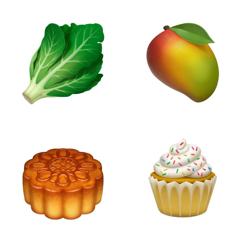 Aktualizace Apple Emoji 2018