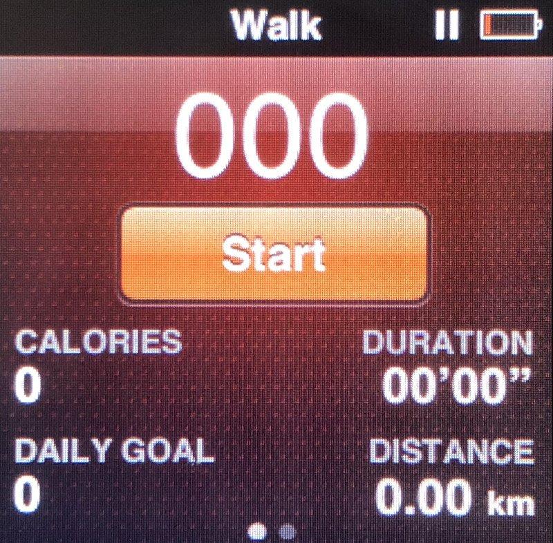 Fitness na iPod Nano 6G