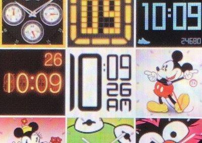 Výběr ciferníku na iPod Nano 6G