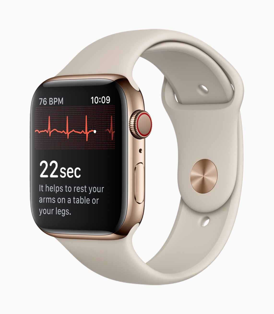 Měření EKG na Apple Watch 4
