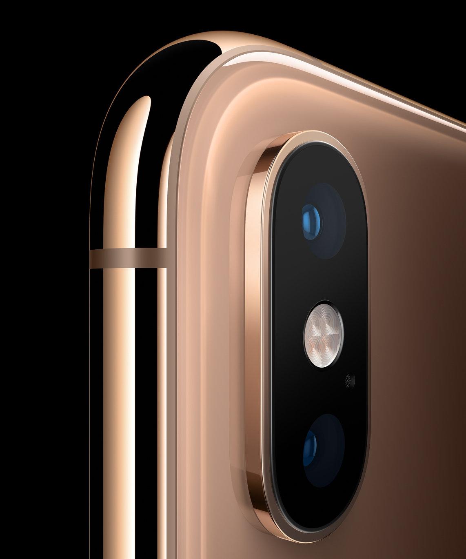 Fotoaparát iPhonu Xs a Xs Max
