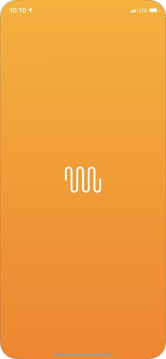 Úvodní obrazovka aplikace Netatmo Energy