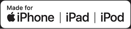 Made for iPhone   iPad   iPod