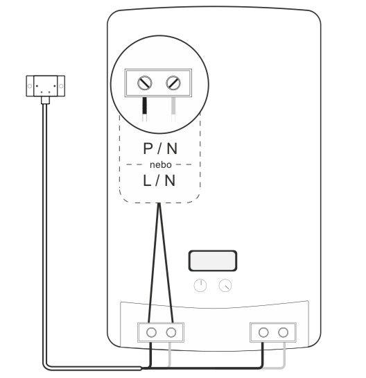 Zapojení Netatmo Energy jako přenosný termostat
