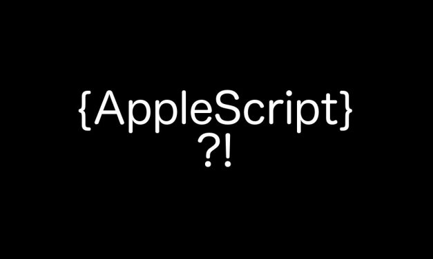 Praktický úvod do AppleScriptu