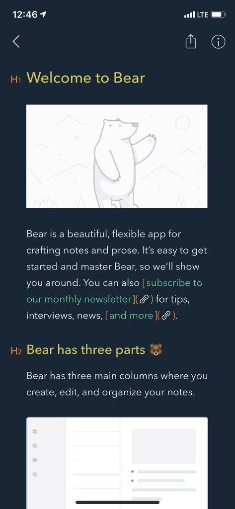 Barevné téma Bearu Cobalt