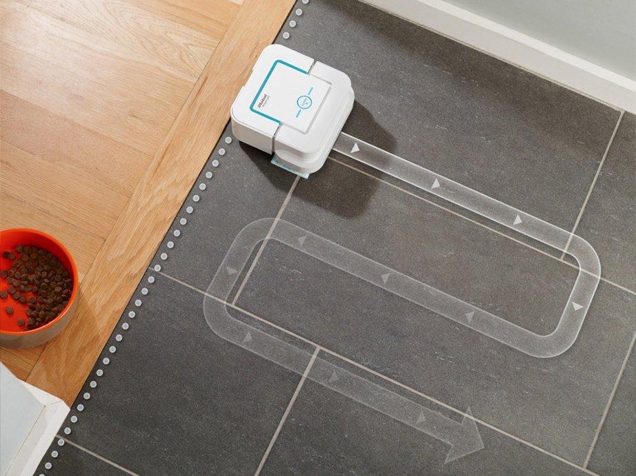 Režim virtuální zdi robotického mopu iRobot Braava jet 240