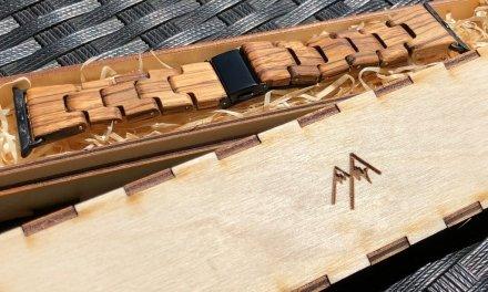 Řemínek Woodenland: Dřevo hodinkám sluší