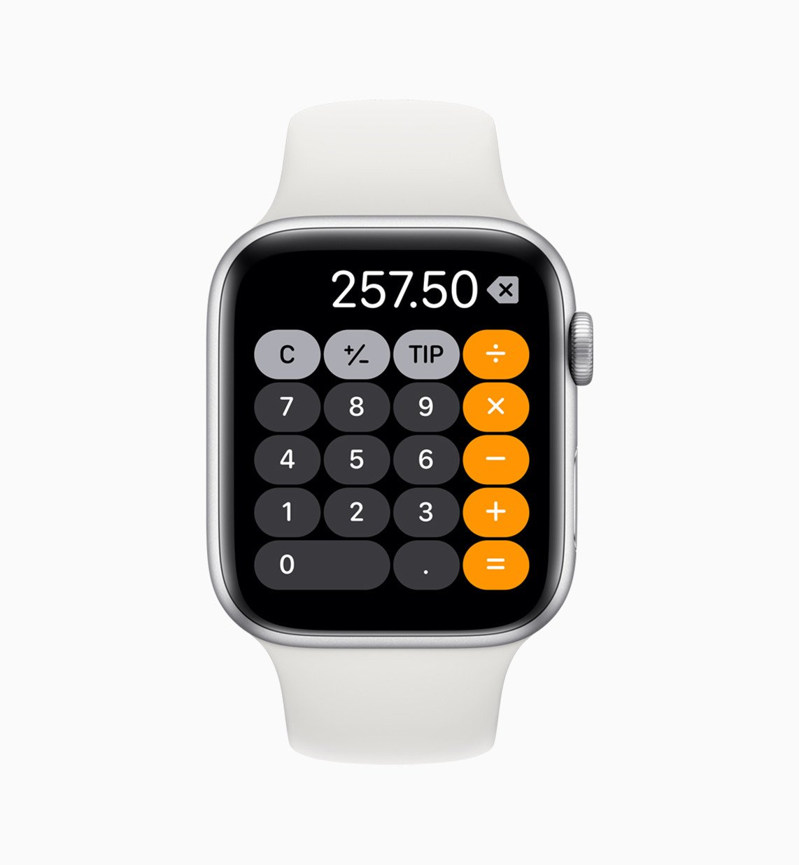Kalkulačka na Apple Watch