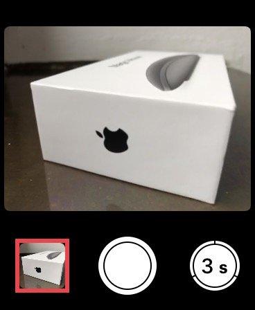 Aplikace Fotoaparát na Apple Watch