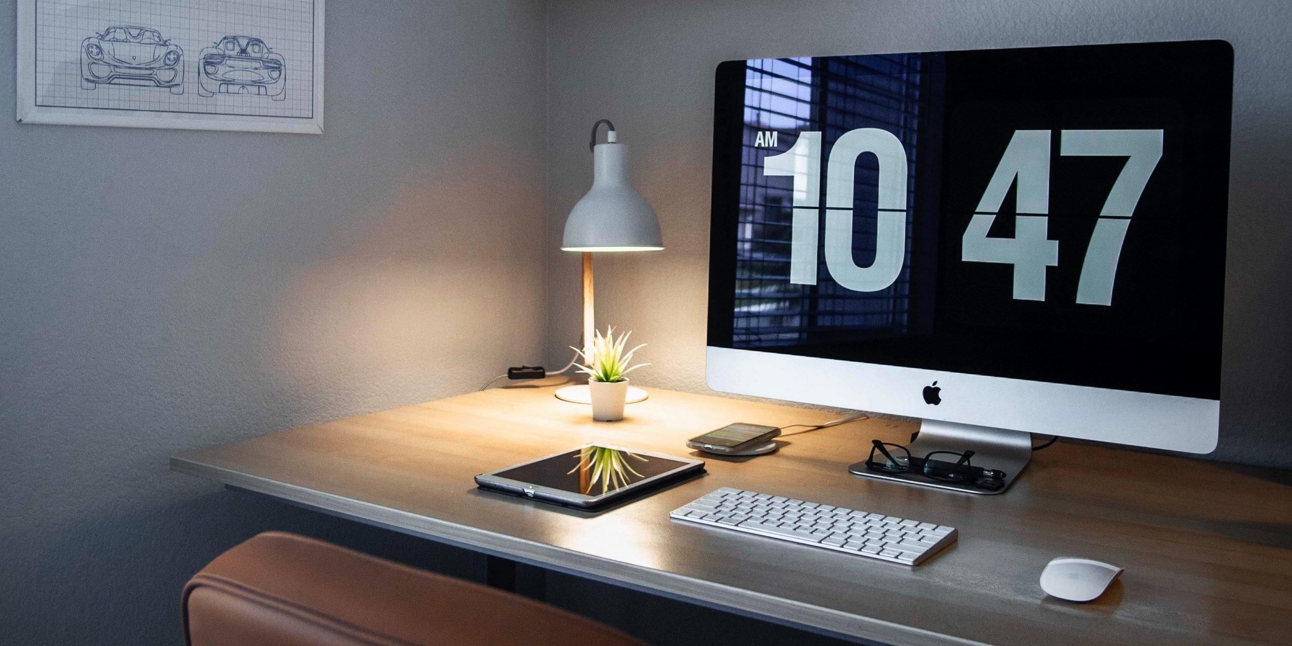 Příjemná a útulná kancelář vás bude motivovat k práci