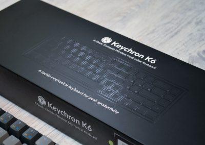 Stylové balení klávesnice Keychron K6
