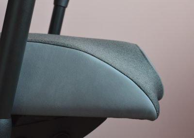 Detail sedáku židle Therapia Sense
